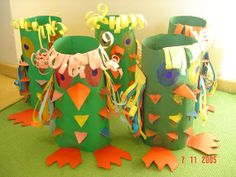 lampion Cup Crafts, Bird Crafts, Crafts To Do, Crafts For Kids, Recycling For Kids, Diy For Kids, I Love School, Preschool Arts And Crafts, Toilet Paper Roll Crafts