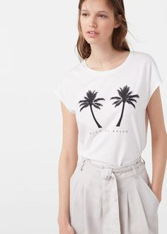 Time to Enjoy tee from MANGO