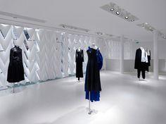 Sophie Hicks - Yohji Yamamoto Cambon Store - Photograph by: J. Marburg