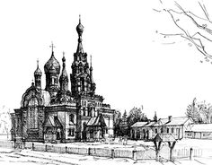 """Check out new work on my @Behance portfolio: """"The Russian greek - orthodox church"""" http://be.net/gallery/55387387/The-Russian-greek-orthodox-church"""