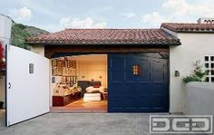 Orange County, CA Custom Made Carriage Doors for Garage Conversions by Dynamic Garage Door! Quotes at: (855) 343-DOOR by DynamicGarageDoors
