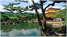 Pine, Pagoda & Pond