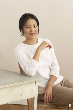 3 4 Sleeve Classic Pullover Pattern (Knit)