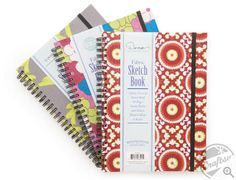 blogged: 60% off fabric-covered sketch books via @Craftsy