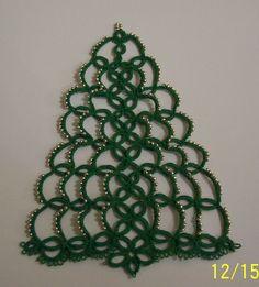 Tatting Christmas Tree by Icela