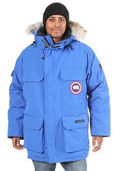 f17208250f87 CANADA GOOSE PBI Expedition 2012 - Funktionsjacke für Herren - Blau. Parka  JacketsCanada .