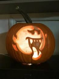 Halloween on pinterest pumpkin carvings pumpkin carving for Boo pumpkin ideas