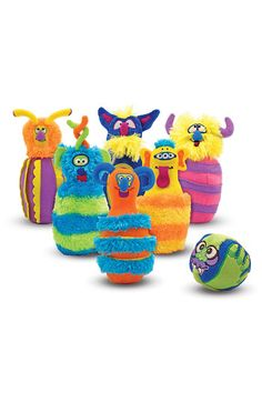 Monster bowling set - such a great gift for a toddler
