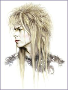 ~ David Bowie † As The Goblin King Jareth † In The Movie Labyrinth 1986 †