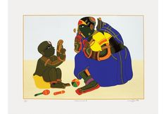 Mother and Child - III,[product_collection],Archer Art Gallery,Thota Vaikuntam - Artisera Sell Paintings Online, Selling Paintings, Online Painting, Famous Indian Artists, Tanjore Painting, Om Namah Shivaya, Indian Folk Art, Indian Paintings, Old Art