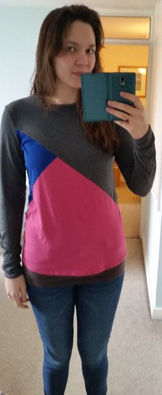 Lauren's colourblocked Tessellate Tee