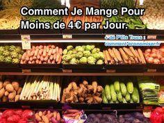 Voici nos 10 astuces pour vous aider à gérer le budget alimentation. Utilisez-les et vous pourrez manger pas cher et sain en peu de temps ! Découvrez l'astuce ici : http://www.comment-economiser.fr/comment-je-mange-pour-moins-de-4-euros-par-jour.html?utm_content=bufferbb8e2&utm_medium=social&utm_source=pinterest.com&utm_campaign=buffer