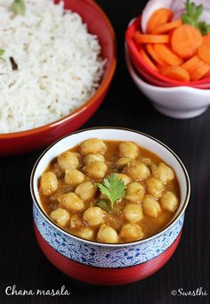 chana masala recipe - restaurant style easy delicious chole masala recipe with step by step pictures. Goes well with naan, roti or rice.