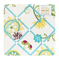 image of Sweet Jojo Designs Layla Fabric Memo Board