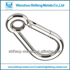 stainless steel rope hook; snap hook for wire rope;stainless steel eye hook
