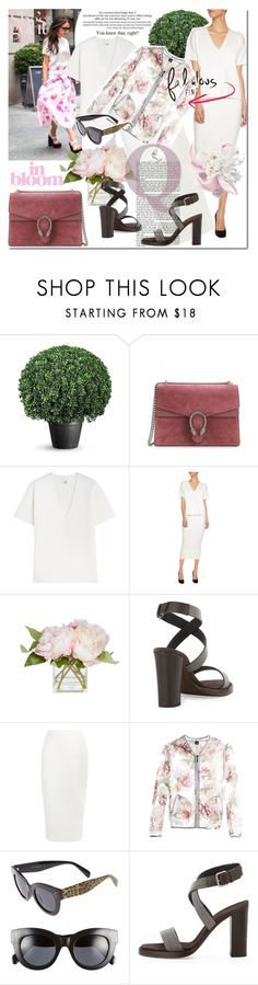 """""""Untitled #1265"""" by elena-starling ❤ liked on Polyvore featuring Victoria Beckham, Gucci, Iris & Ink, Brunello Cucinelli, A.J. Morgan, women's clothing, women's fashion, women, female and woman"""