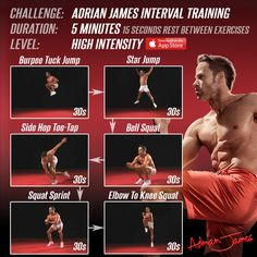 Amazing HIIT Workout – Building up key strength