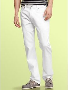 After Easter, its time to break out the white jeans
