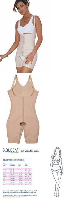 dfa9a304b0 Shapewear 11530  Squeem 26Jb Cotton And Rubber Full Body Shaper - Beige -  Size 4Xl -  BUY IT NOW ONLY   49.95 on eBay!