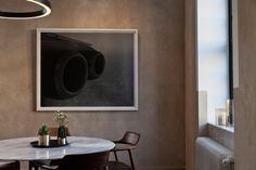 Bygdøy allé 4 Hille Strandskogen arkitekter as Bathroom Lighting, Oversized Mirror, Flat Screen, Architecture, Furniture, Home Decor, Projects, Modern, Bathroom Light Fittings
