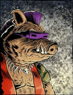 Bebop • Teenage Mutant Ninja Turtles