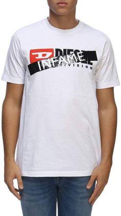 eb763e61fbd Diesel T-shirt T-shirt Men Luxury Fashion