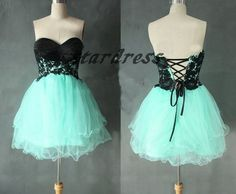 Black+And+Green+Evening+Dress+Tulle+Evening+Dress+by+starsdress,+$78.99