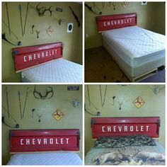 paint for small bedrooms chevy tailgate bed with license plate headboard for the 16604