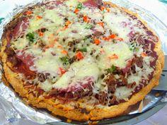 SPLENDID LOW-CARBING BY JENNIFER ELOFF: PIZZA CRUST A LA PEGGY-STYLE