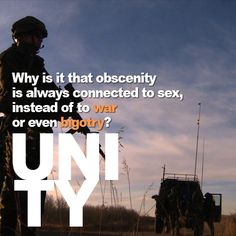 """In the U.S., we see images of #war, #death, and #hate on the #news frequently. Somehow, this is something we've come to view as okay, yet the #UNITY of two people is what we should be telling our children is """"bad.""""  #DONATE TO THE #UNITYFILM #KICKSTARTER: http://kck.st/14wtCHl"""