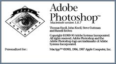 The first version of Photoshop was introduced in 1990 by Adobe. This would also become very popular among photographers, who could now easily digitally edit their photos. This was also the birth of digital art and helped the animation business become more life like. Movements such as Surrealism and Dada also benefitted from the birth of Photoshop. It allowed artists to develop their style, creating more abstract and unique art that no one had seen before.