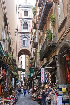 Naples, Italy. Always a stop in Naples in route to the Italian Riviera. Wonderful drive south.