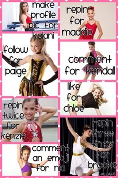 Mackenzie Maddie and Kendall ~Kristina