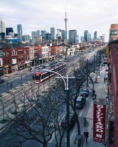 Toronto, capital city of Ontario, Canada. Toronto Canada, Toronto Winter, Toronto Street, Toronto City, Toronto Skyline, Toronto Travel, Toronto Photography, City Photography, Ontario