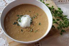 Maronen-Steinpilz-Cremesuppe