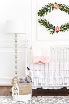 An all white nursery