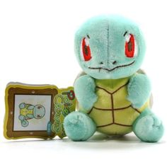 Pokemon Center Canvas Plush - Squirtle/Zenigame >>> Want additional info? Click on the image. (This is an affiliate link) #PlushFigures