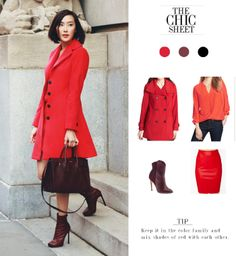 Mix Shades of Red