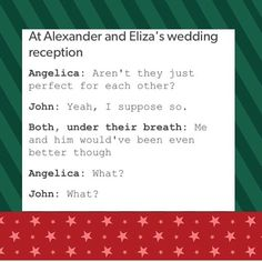 yeah, we all know John Laurens is in love with Alexander