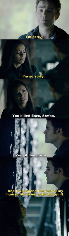 The Vampire Diaries TVD S08E14 - Stefan and Bonnie.
