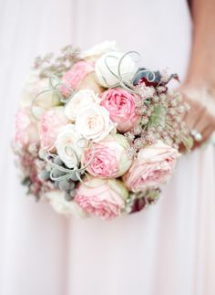 Rustic bouquet: http://www.stylemepretty.com/california-weddings/san-juan-capistrano/2014/05/07/romantic-inspiration-shoot-in-san-juan-capistrano/ | Photography: Brian Brada - http://brianlabradaphoto.com/