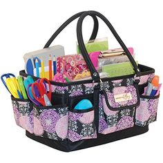Everything Mary Deluxe Scrapbook Organizer, Large, Purple/Black Everything Mary http://www.amazon.com/dp/B00SM8KIGS/ref=cm_sw_r_pi_dp_z9zjwb1ESATS0