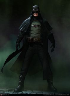 Gotham By Gaslight by Marc Tan | 3D | CGSociety