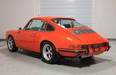 1970 Porsche 911S R GRUPPE Tangerine/Black 64,000 miles for sale   Sloancars
