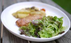 Experimente aus meiner Küche: Grüner Salat mit Zitronen-Buttermilch-Dressing