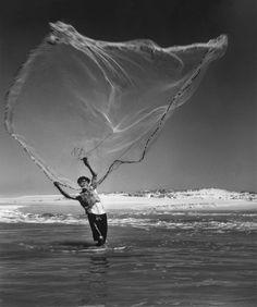 Portugal, 1954, photo de Jean Dieuzaide.
