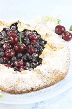 Tarta z owocami. Tart Recipes, Cookie Recipes, Fresh Fruit Tart, Dessert Drinks, Food Inspiration, Acai Bowl, Camembert Cheese, Cookies, Breakfast