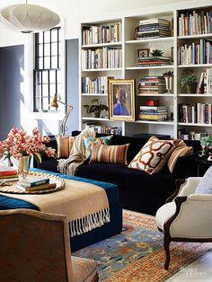 sofá na decoração
