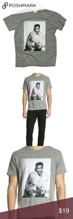 MEN'S SHIRT MEN'S SHIRT  (OTIS REDDING ) ROSSER RIDDLE NEW YORK  Shirts Tees - Short Sleeve