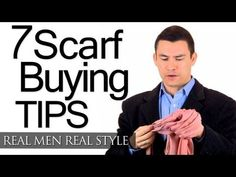 How To Buy A Man's Scarf - 7 Scarf Buying Tips For Men - Choosing Men's Scarves